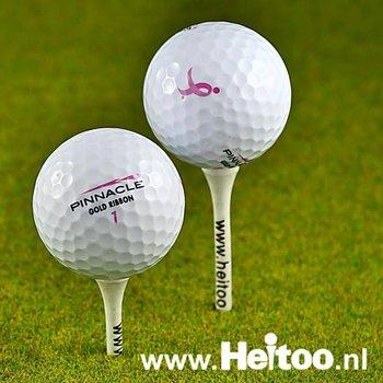 Gebruikte Pinnacle Lady golfballen (wit) AAA kwaliteit
