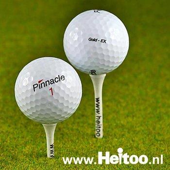 Gebruikte Pinnacle Mix golfballen AAAA kwaliteit