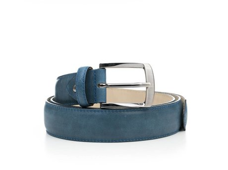 REHAB BELT SHINY INDIGO