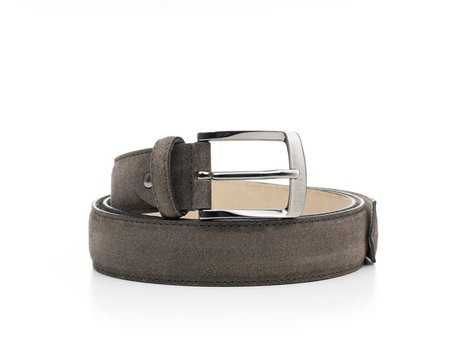 REHAB BELT SUEDE SMOKE