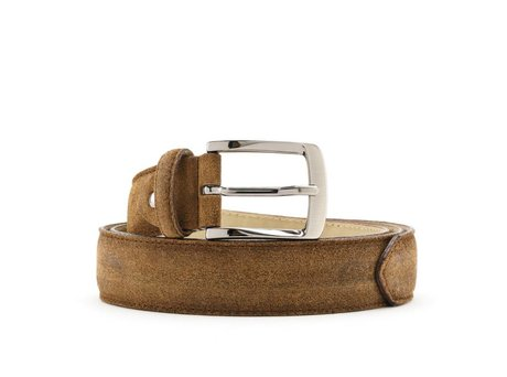 REHAB BELT SUEDE TABACCO