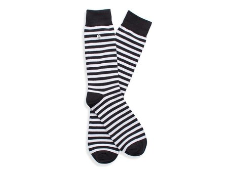Alfredo Gonzales STRIPES BLACK WHITE
