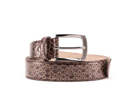 REHAB BELT KURT HONEY TOBACCO