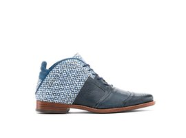 REHAB KURT II CHECKER BLUE-WHITE