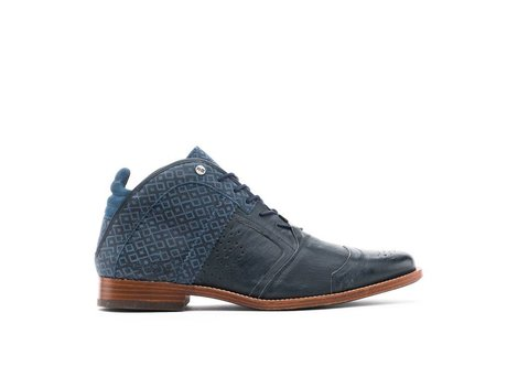 REHAB KURT II CHECKER DARK BLUE
