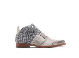 REHAB KURT II CHECKER LIGHT GREY