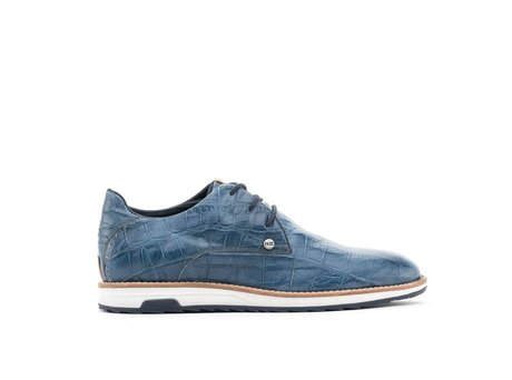 REHAB NOLAN CROCO DARK BLUE