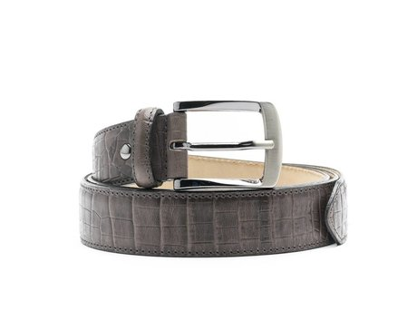 REHAB BELT CROCO DARK GREY