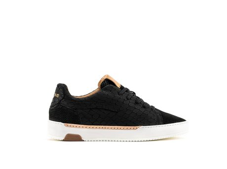 REHAB THOMAS II LIZARD NUBUCK BLACK