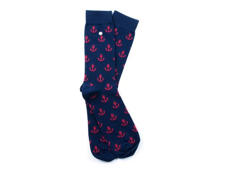 Alfredo Gonzales ANCHOR MAN NAVY/RED