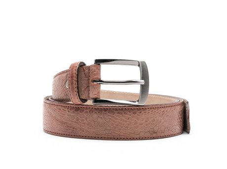 REHAB BELT COBBLE COGNAC