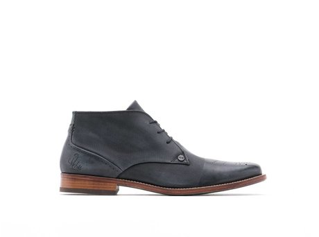 REHAB CAGE BROGUE BLACK