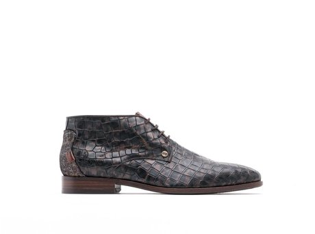 REHAB GREGORY CROCO ARMY DARK BROWN