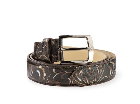 REHAB BELT FLOWER FANTASY BROWN