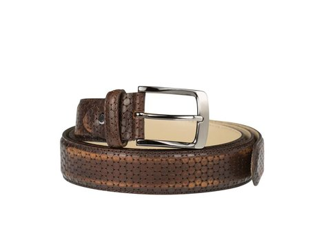 REHAB BELT BALLS BROWN