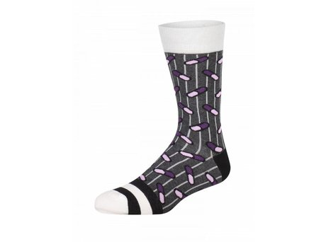 Heroes on Socks HYDE GREY