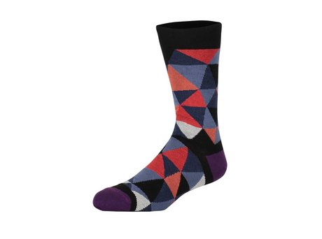 Heroes on Socks TERRY RED