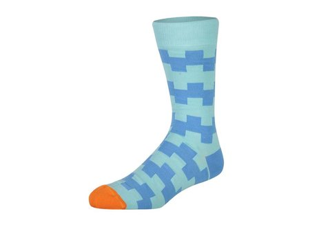 Heroes on Socks LEON BLUE