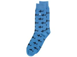 Alfredo Gonzales SHARK ATTACK LIGHT BLUE