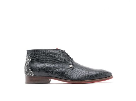REHAB GREGORY CROCO VERNIZ BLACK