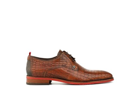 REHAB FALCO CROCO BROWN