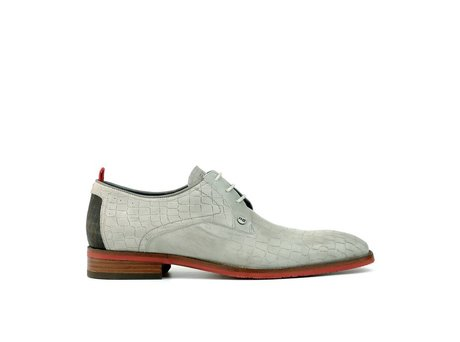 REHAB FALCO CROCO LIGHT GREY