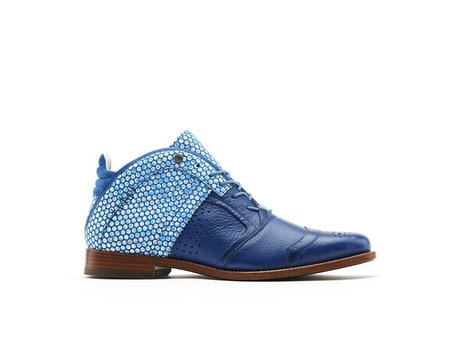 REHAB KURT II DOTS BLUE-WHITE