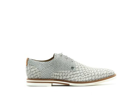 REHAB GRADY LIZARD NUBUCK LIGHT GREY