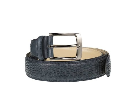 REHAB RIEM CROCO DARK BLUE