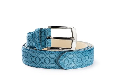 REHAB RIEM ART DECO BLUE