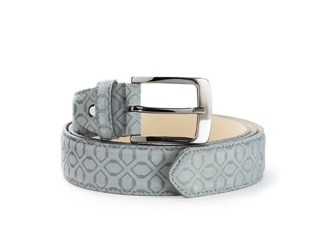 REHAB BELT ART DECO GREY