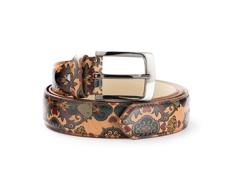 REHAB BELT KURT II BEN TATTOO LL DARK-BROWN SAND