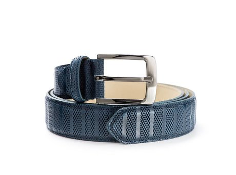 REHAB BELT STRIPES INDIGO