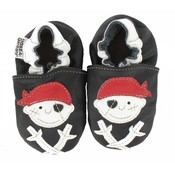 Hobea babyslofje piraat zwart