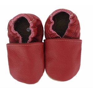 Hobea babyslofje rood