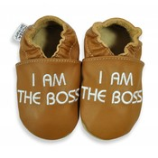 Hobea babyslofje I am the Boss