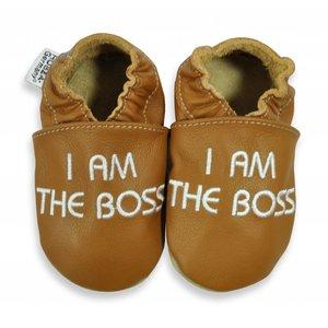 Hobea Hobea babyslofje I am the Boss