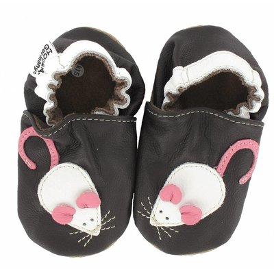 Hobea babyslofjes muis