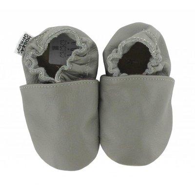 Hobea babyslofjes grijs