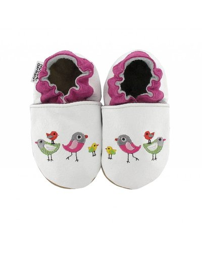 Hobea babyslofjes Hobea vogeltjes
