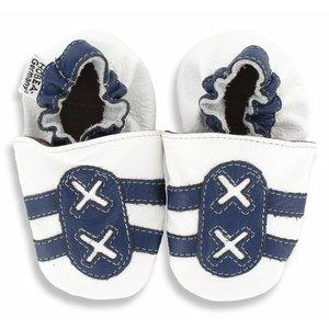 Hobea Hobea babyslofje sport wit/blauw