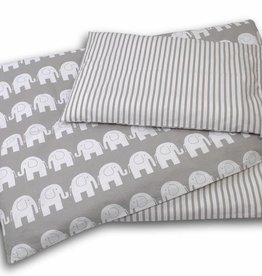 Hobea Dekbed hoes/kussensloop olifant