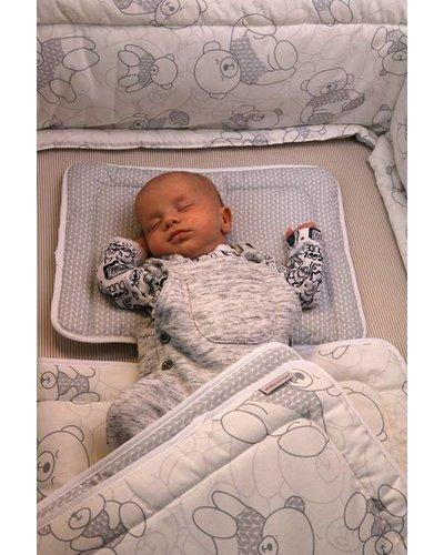 Baby bed-set, kussentje - dekentje