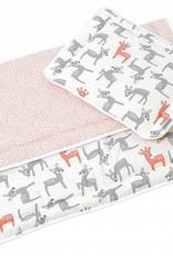 Hobea Hobea bed set kussentje en dekentje bambi