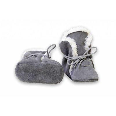 Hobea Hobea winterslofjes grijs