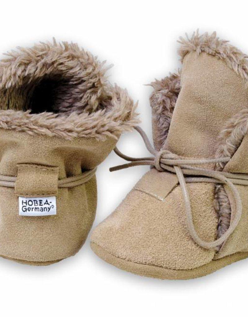 Hobea Hobea winterslofjes bruin
