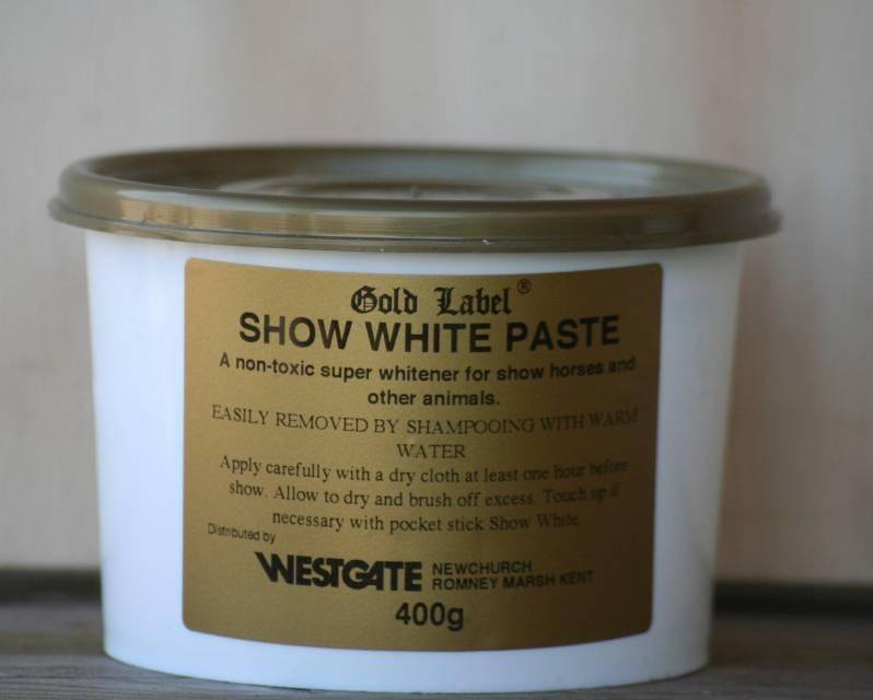 Gold Label BESTSELLER show white paste