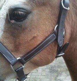 Ponytrends lederen halster de luxe