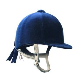 Gatehouse Hickstead Velvet Riding Hat navy