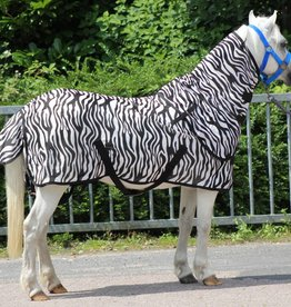 Harry's Horse Flysheet with neck, zebra